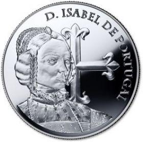 Изабелла Португальская, герцогиня Бургундская 5 евро Португалия 2015