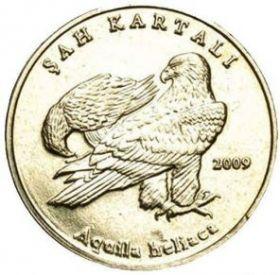 Орел-могильник 1 лира Турция 2009 Редкая!