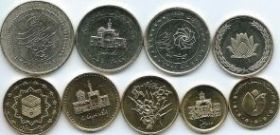Набор монет Иран 2000-2010 9 монет