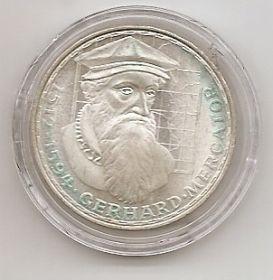 375 лет со дня смерти Герхарда Меркатора 5 марок ФРГ 1969