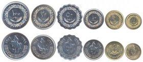Набор из 6 монет Ливия